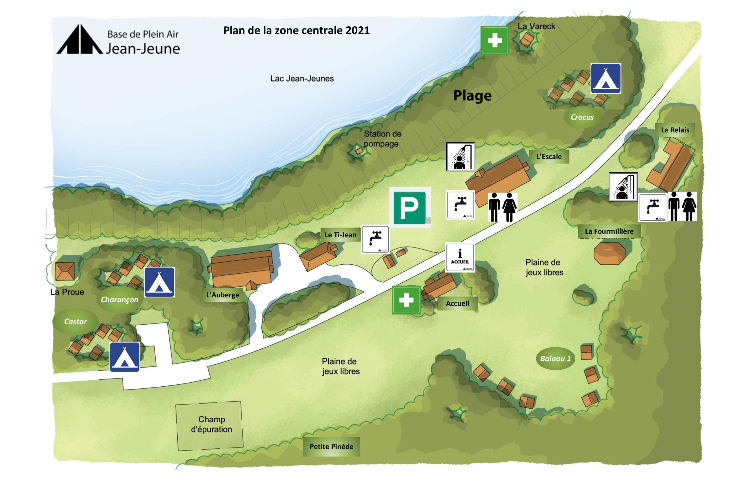 Plan Aire Centrale Vendée 2021